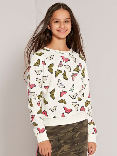 Teens' embellished butterfly sweatshirt
