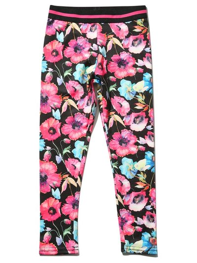 Minoti floral sports leggings (3 - 12 yrs)
