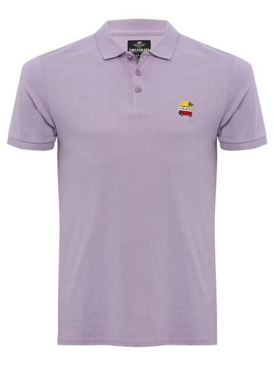 Threadbare emblem embroidered polo shirt