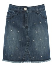 Teens' stud denim skirt