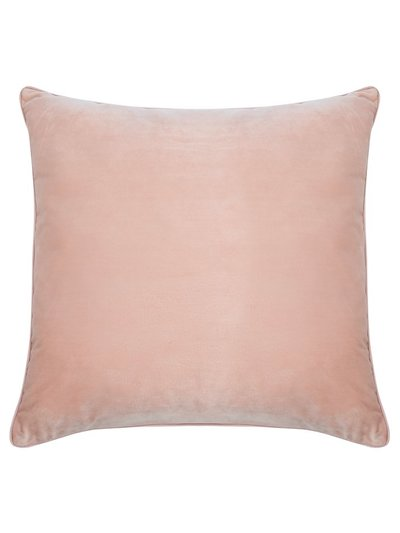 Rose velour cushion