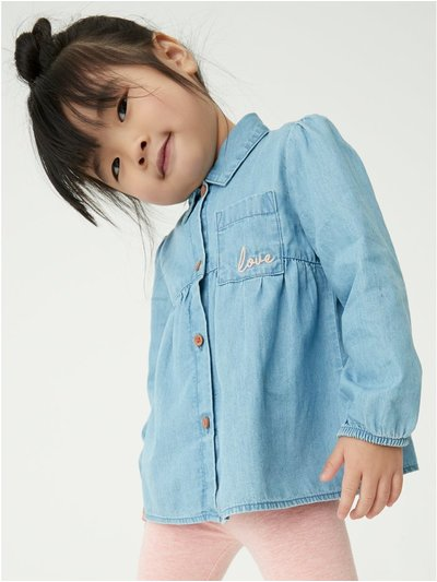 Denim shirt (9mths-5yrs)