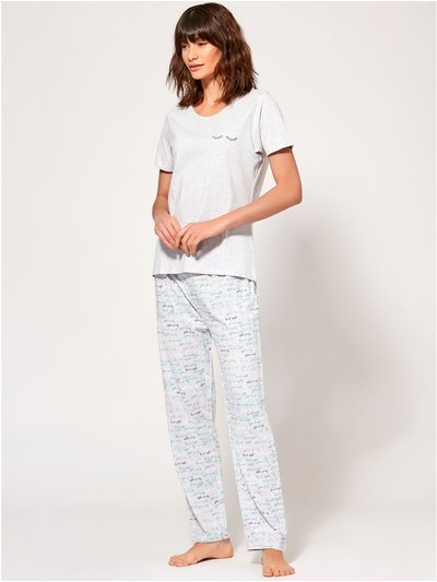 Good night slogan pyjama set