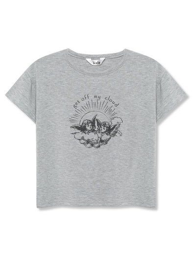 Angel slogan t-shirt (3-12yrs)