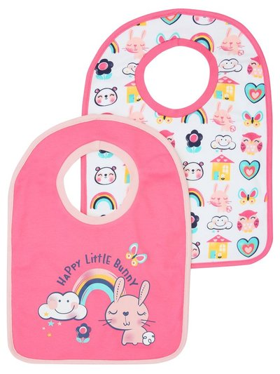 Rainbow bibs two pack