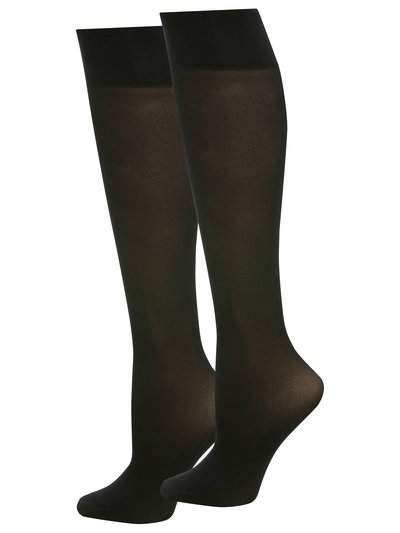 40 denier knee highs two pack