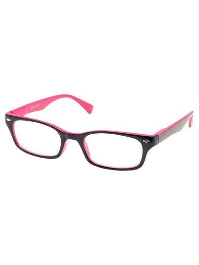 Pink reading glasses