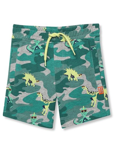 Jersey camouflage dinosaur shorts (9mths-5yrs)
