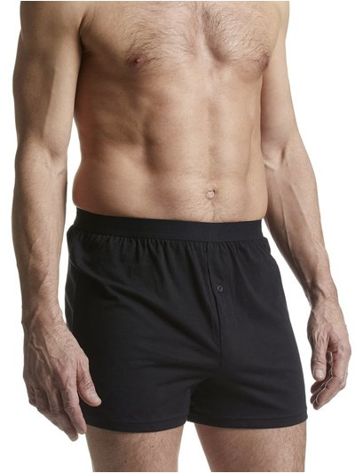 Black boxers three pack