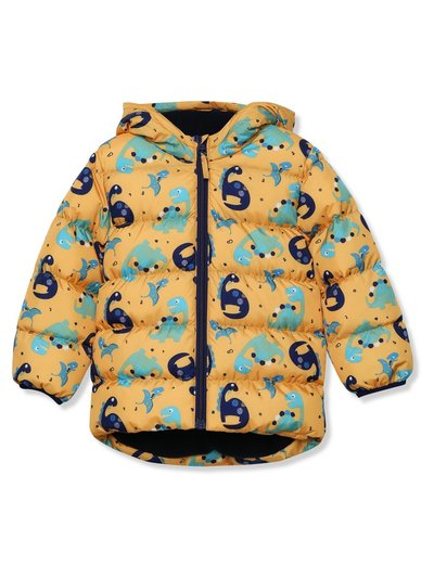 Dinosaur padded coat (9 mths - 5 yrs)