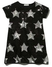 Kite and Cosmic Two way sequin star tunic dress