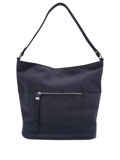 Navy hobo shoulder bag