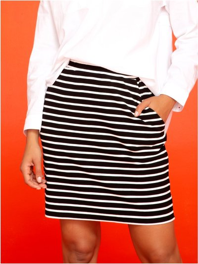 Khost Clothing jersey stripe skirt