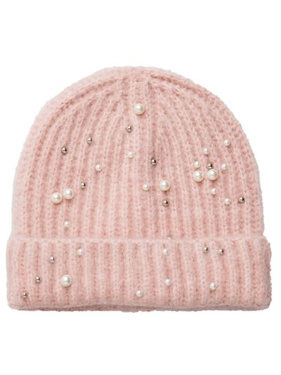 Pieces pearl embellished hat