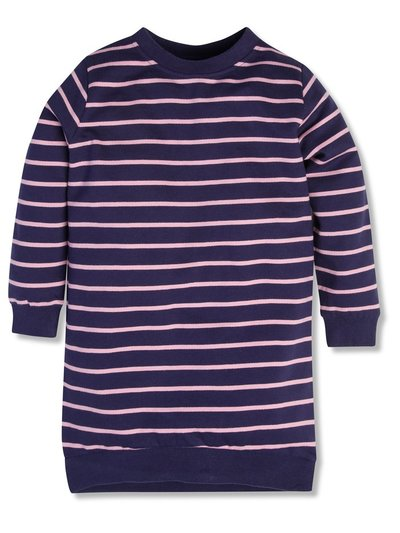 Striped sweat dress (3-12yrs)