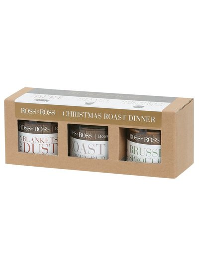 Christmas roast dinner rub three pack