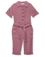 Pink boilersuit (9mths-5yrs)