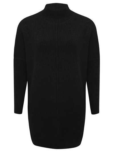 Ribbed tunic jumper