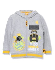 JCB zip up hoodie (18 mths - 6 yrs)