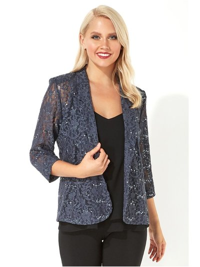 Roman Originals lace sequin embellished blazer