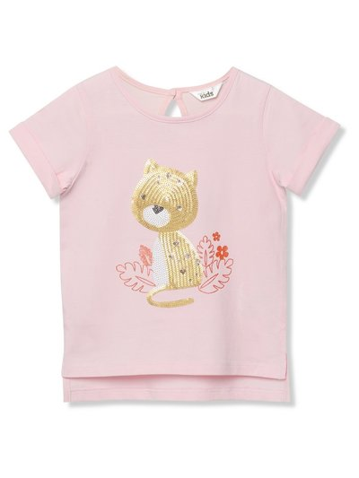 Sequin leopard t-shirt (9mths-5yrs)