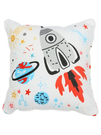 Rocket ship cushion