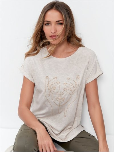 Sonder Studio Pixie chain detail T-shirt