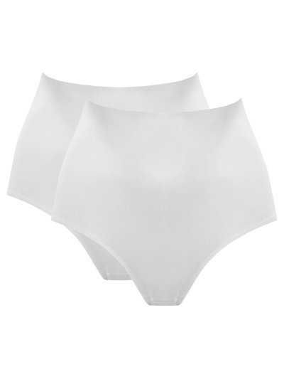 Microfibre Control Briefs Two Pack