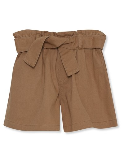 Paperbag waist shorts (3-12yrs)
