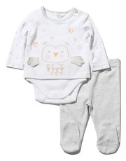 Owl bodysuit and leggings set