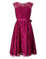 Precis Jada lace prom dress