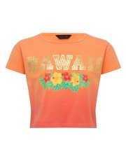 Teens' Hawaii slogan ombre t-shirt