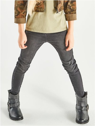 Black skinny jeans (3-12yrs)