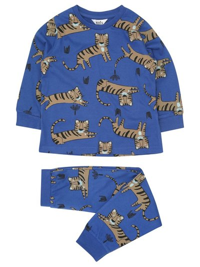Tiger print pyjamas (18mths-6yrs)