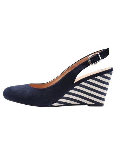 Concord slingback wedge