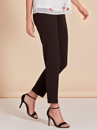 Slim leg trousers