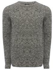Grey fisherman jumper
