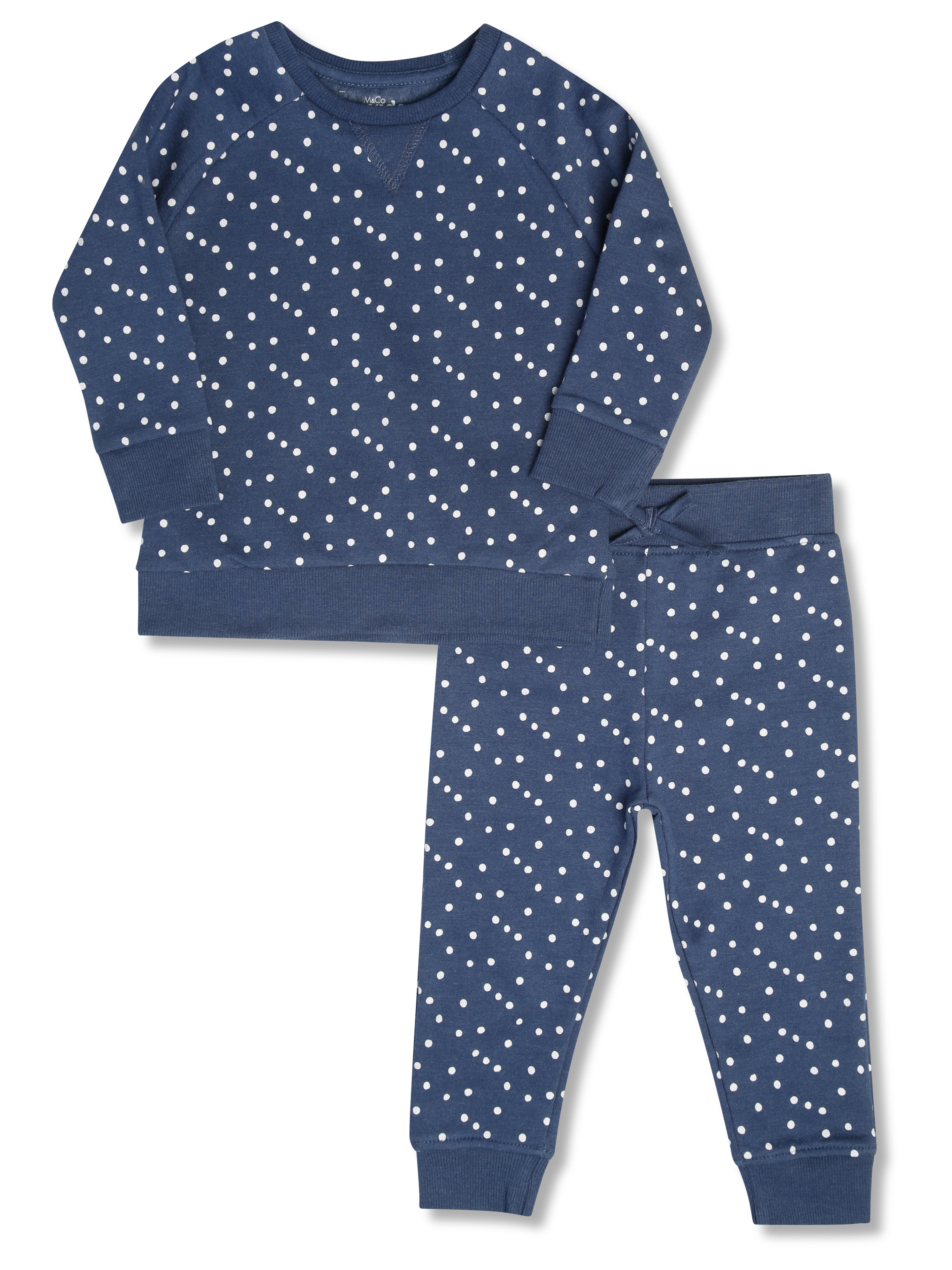 Polka Dot Sweat Co-ord (9mths-5yrs)