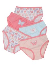 Butterfly briefs five pack