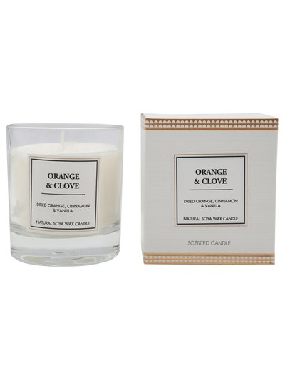 Scented Candle Orange and Clove