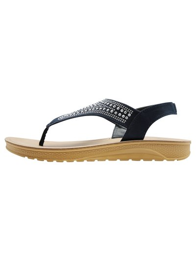 Sharpen stud detail flexi sole sandal