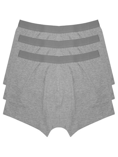 Grey trunks three pack