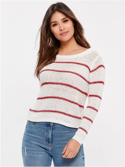 JDY striped jumper