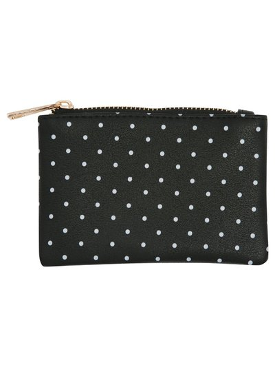 Polka dot coin purse