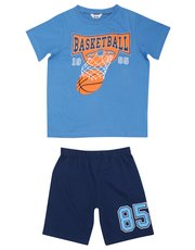 Basketball print pyjamas