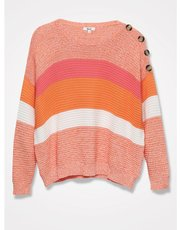 Khost Clothing ribbed stripe jumper
