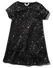 Rainbow star tunic dress