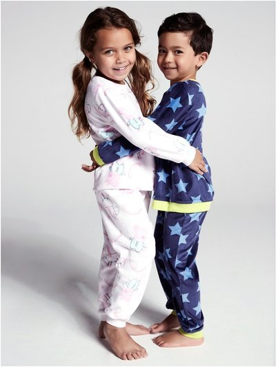Star fleece pyjamas (1-6yrs)