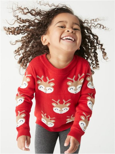 Reindeer jumper (9mths-5yrs)
