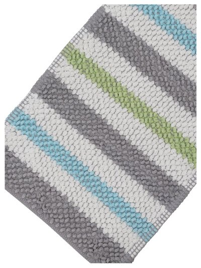 Stripe bath mat